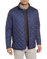 Peter Millar Suffolk Quilted Water Resistant Car Coat