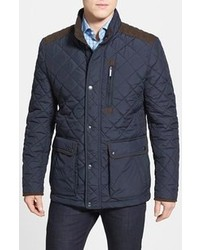 f0c88845648 Men's Navy Quilted Field Jackets by Vince Camuto   Men's Fashion ...