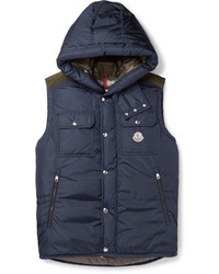 Moncler Anis Quilted Shell Hooded Down Gilet