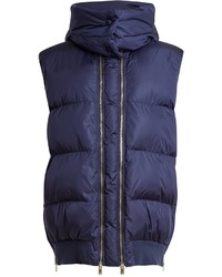 Stella McCartney Detachable Hood Quilted Gilet