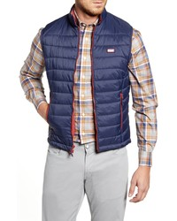 johnnie-O Hudson Classic Quilted Nylon Vest