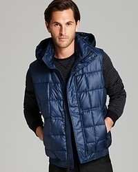 Marc New York Dublin Box Quilted Down Vest