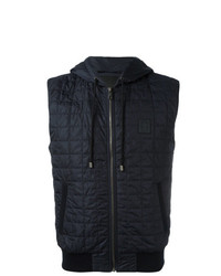 Dolce & Gabbana Quilted Gilet Blue