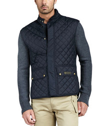 Belstaff Quilted Two Pocket Vest