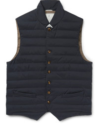Brunello Cucinelli Quilted Waterproof Shell Gilet