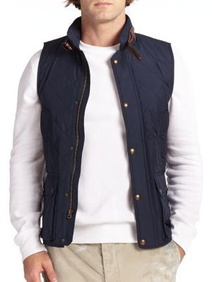 Polo Ralph Lauren Southbury Quilted Vest | Where to buy & how to wear : polo ralph lauren quilted - Adamdwight.com