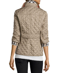 ad6f83dd1 $595, Burberry Ashurst Classic Modern Quilted Jacket