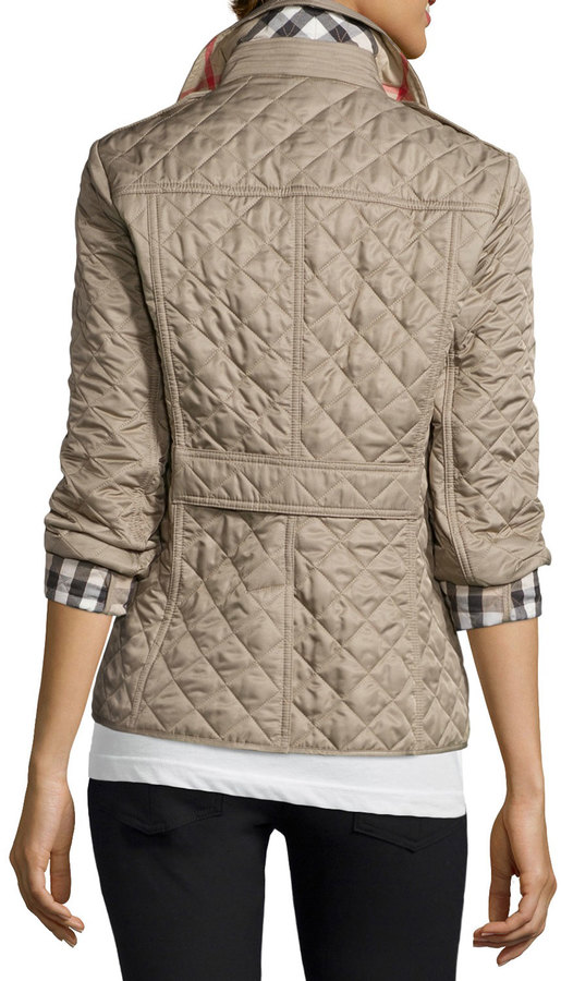 2ba043cb1 Ashurst Classic Modern Quilted Jacket