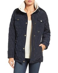 Petite michl michl kors quilted jacket medium 844828