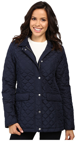 5949917707b9 ... Navy Quilted Jackets Tommy Hilfiger Quilted Poly Cotton Jacket ...