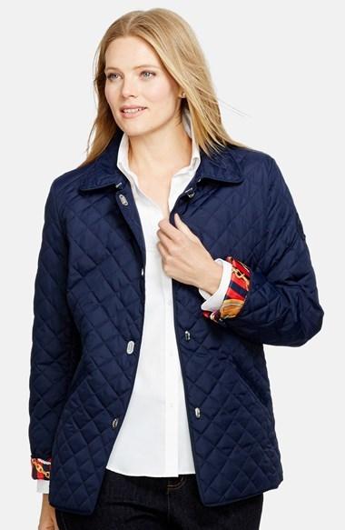 Lauren Ralph Lauren Turnkey Quilted Barn Jacket Where To Buy How