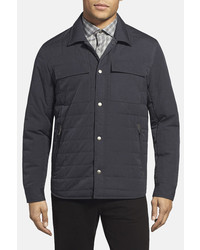 Kenneth Cole New York Quilted Shirt Jacket