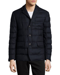 Moncler Rodin Quilted Button Down Jacket