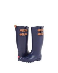 Chooka Top Solid Rain Boots Navy