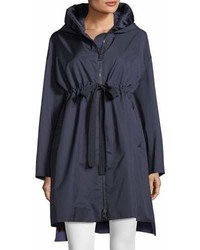 Moncler Aigue Self Tie Trench Coat W Hood