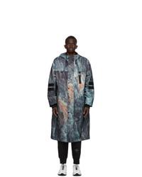 Hugo Blue Graphic Maliks Coat