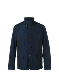 Fay Button Front Raincoat