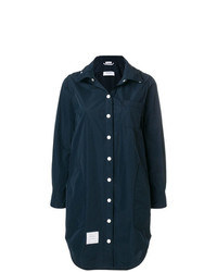Thom Browne Detachable Hood Shirt Coat