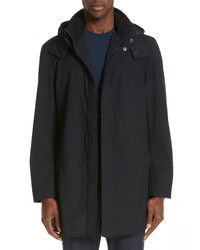 Emporio Armani Hooded Raincoat
