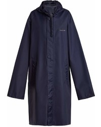 Vetements Horoscope Aquarius Hooded Raincoat