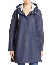 Stutterheim Mosebacke Rubberized Hooded Raincoat