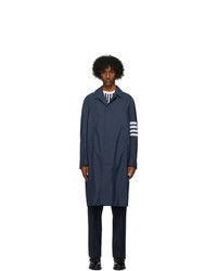 Thom Browne Navy Engineered Coat