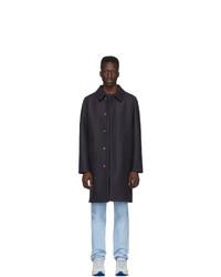 A.P.C. Navy Wool Julian Coat