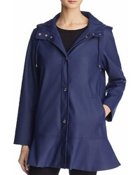Kate Spade New York Peplum Raincoat 100%