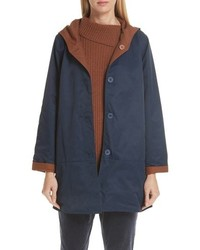 Eileen Fisher Reversible Hooded Jacket