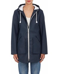 Barneys New York Zip Front Raincoat