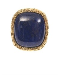 Aurelie Bidermann Aurlie Bidermann Miki Lapis And Gold Plated Ring