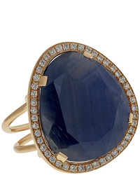 Christina Debs Hard Candy Sapphire And Diamond Ring