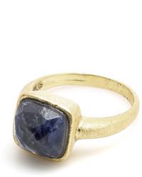 Donna Si Square Sodalite Ring