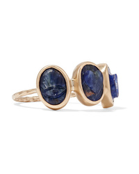 Pascale Monvoisin I Love You 9 Karat Gold Sodalite Ring