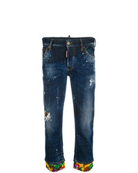 Dsquared2 Cropped Boyfriend Jeans