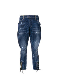 Dsquared2 Dropped Distressed Jeans