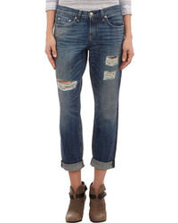 Rag and Bone Rag Bone Distressed Boyfriend Jeans