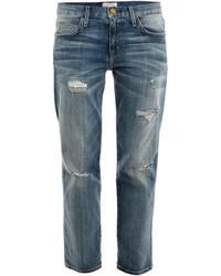 Current/Elliott The Boyfriend Low Rise Jeans