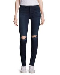Rag & Bone Jean High Rise Distressed Skinny Jeans
