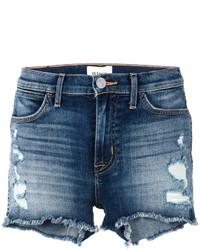 Hudson Soko Distressed Denim Shorts