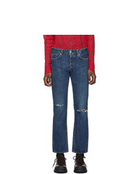 Moussy Vintage Blue Limeport Straight Jeans