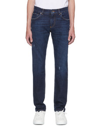 Dolce & Gabbana Blue Slim Jeans
