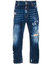 Distressed denim jeans medium 4344861
