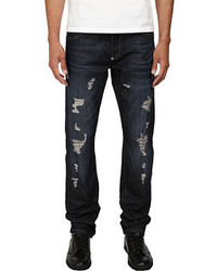 Philipp Plein Distressed Denim