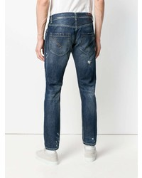 Dondup Distressed Slim Fit Jeans