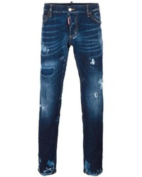 DSQUARED2 Distressed Slim Fit Jeans