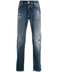 Closed Faded Mid Rise Jeans