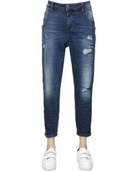 Diesel Fayza Evo Distressed Cotton Denim Jeans