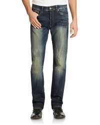 G Star G Star Raw Distressed Dark Washed Jeans