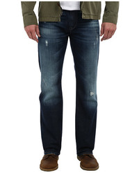 Mavi Jeans Josh Regular Rise Boot Cut In Dark Cashmere